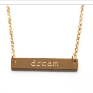 "Jewelry - Jook and Nona ""Dream"" necklace"